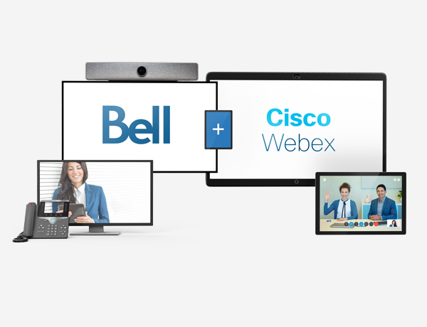 Bell Total Connect with Cisco Webex.