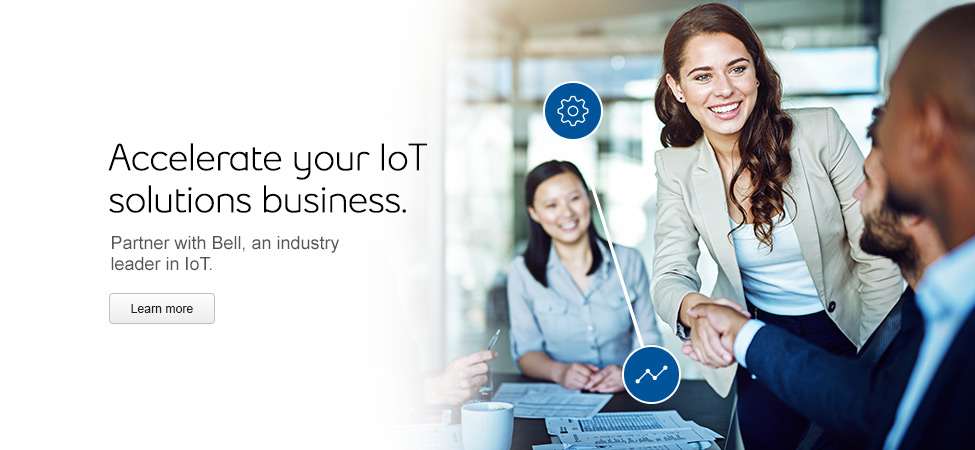 Partner with Bell, an industry leader in IoT