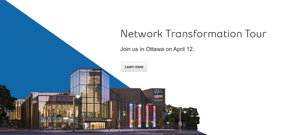 Ottawa network transformation event