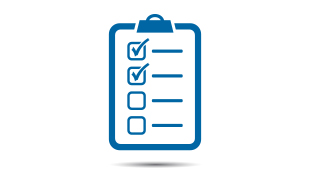 Stay organized with our checklist