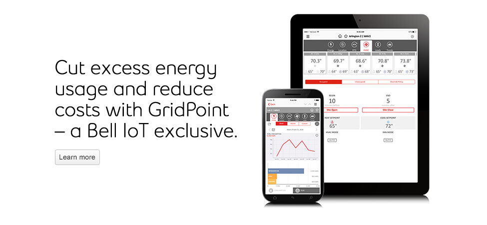 GridPoint – A Bell IoT exclusive