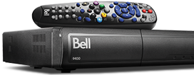 Bell Business Satellite TV receivers