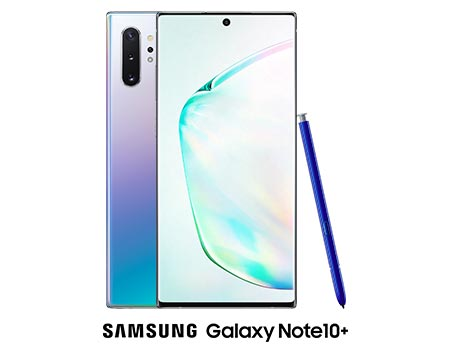 The Samsung Galaxy Note10+.