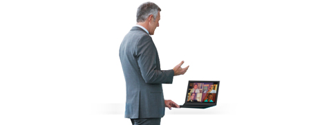 Feature-rich web conferencing