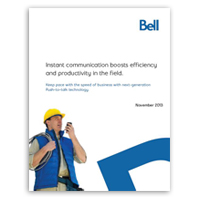 What to look for in a push-to-talk solution – white paper
