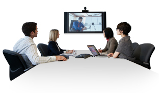 Real-time web and audio conferencing