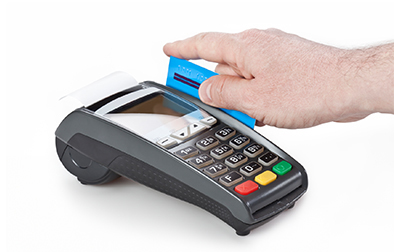 Take secure credit or debit card payments instantly