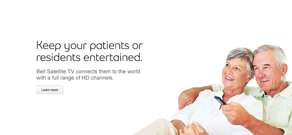 HD entertainment for your residents or patients