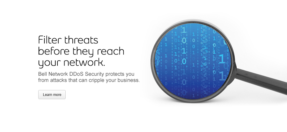 Protect your business from attacks and threats with Bell Network DDoS Security