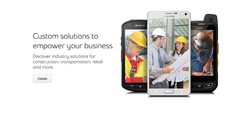 Custom mobile solutions