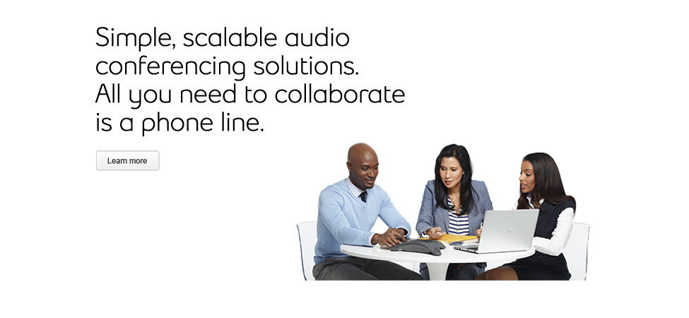 Simple, scalable audio conferencing solutions