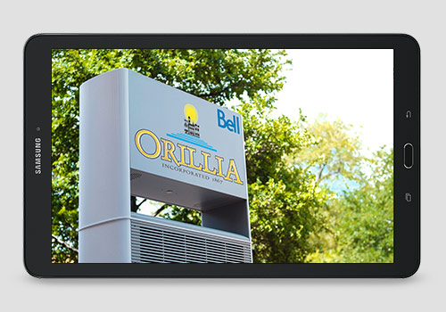 Bell and City of Orillia announce smart city partnership.